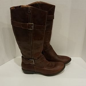 BOC brown knee high boots Sz 8.5